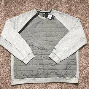 Nike Sportswear NSW Quilted Crew Neck Pullover
